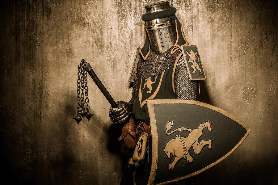 Knights in Battle Wallpaper Medieval Knight in Battle